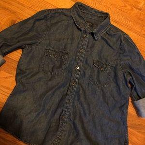 Talbots Denim Shirt